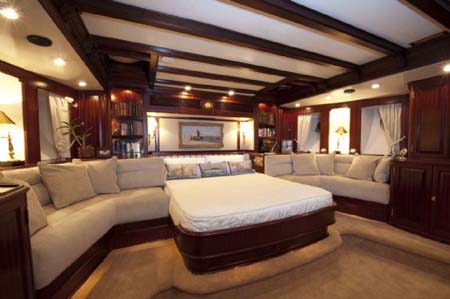 Sail Yacht Master Stateroom