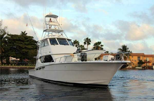 60 Hatteras Sportfish El Bohemio for Sale