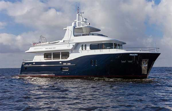 73 dauntless motor yacht for sale large yachts for sale for Large motor yachts for sale