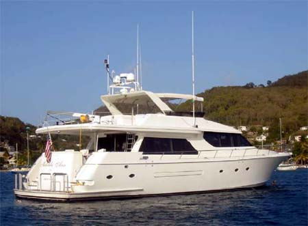 Motor Yacht for Sale Melinda Ann Stern View