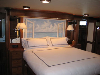 Marlowe 78 Motor Yacht Owner Stateroom