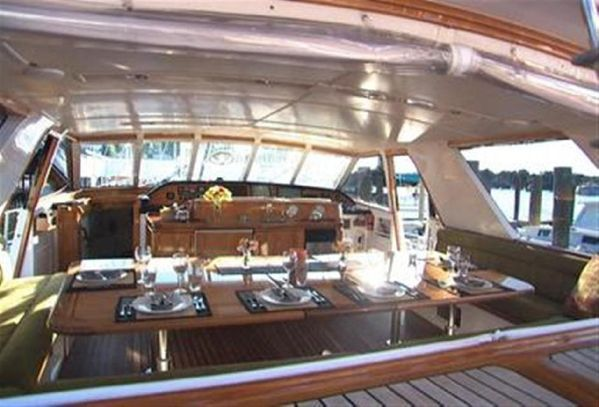 Sailing Yacht for Sale Deck House