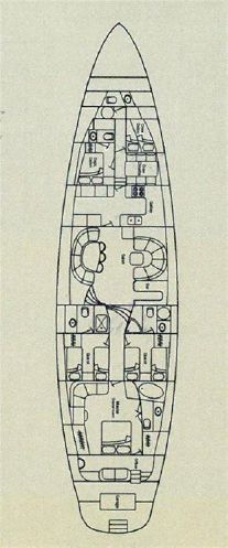 Sailing Yacht Lochiel Layout