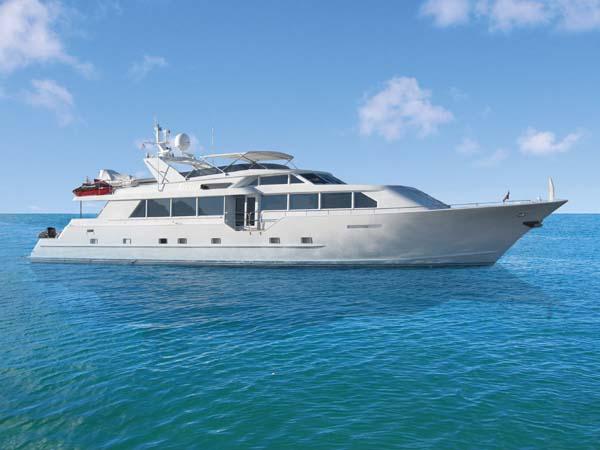 114 broward motor yacht for sale trevia large yachts for for Large motor yachts for sale
