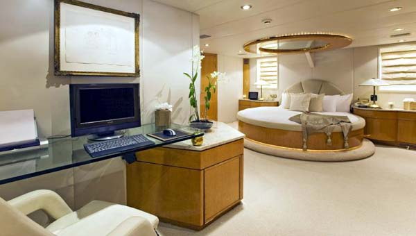 Motor Yacht for Sale Master Stateroom