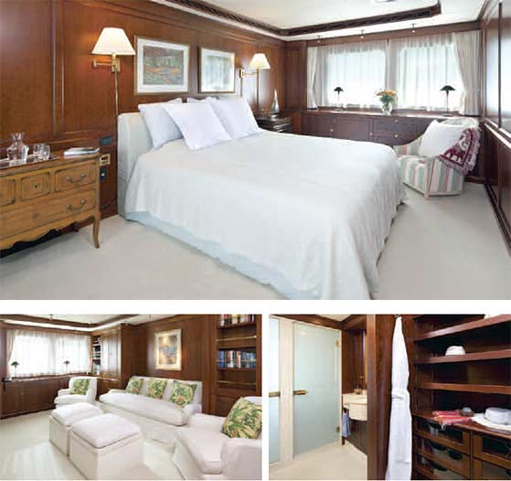 Motor Yacht Master Suite
