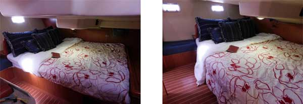 Sailing Yacht for Sale Master Cabin Queen
