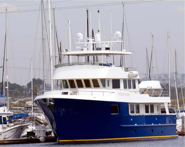 92 all seas motor yacht large yachts for sale for Large motor yachts for sale