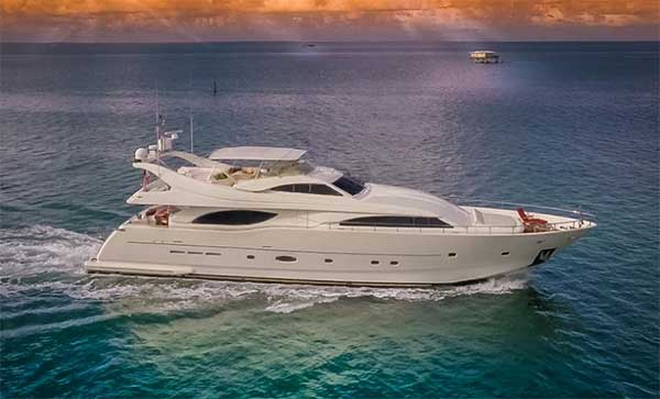 94 Ferretti Motor Yacht for Sale