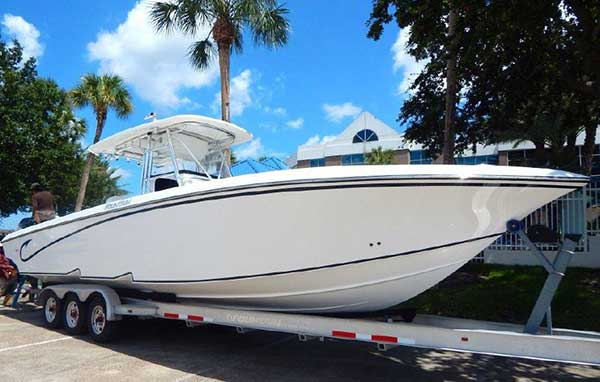 Fountain 34 Center Console for Sale