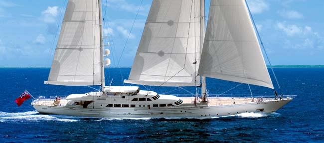 Perini Navi Sail Yacht Felicita West