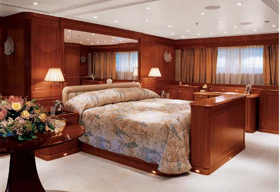 Sailing Yacht for Sale Felicita West Master Stateroom